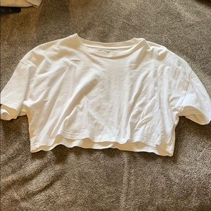 TNA cropped tee